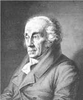 Johann Friedrich Blumenbach (1752-1840), Anatom, dt. Naturforscher, Blumenbach'sche Rassenlehre, unterschied fünf Rassen, die braune, schwarze, rote, ... - blumenbach2